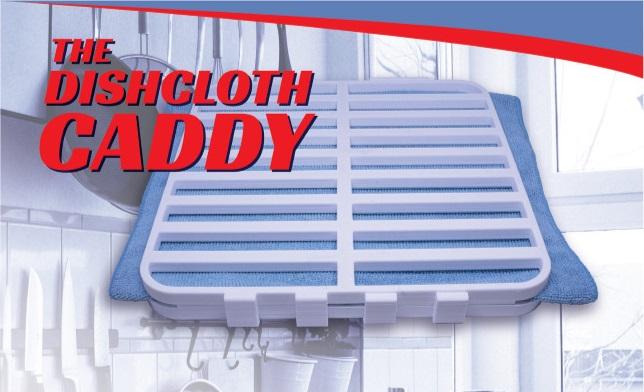 Dish Cloth Caddy